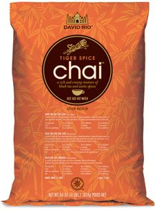 David Rio Tiger Spice Chai, Two 4 Lb. Bags by Tiger Spice Chai
