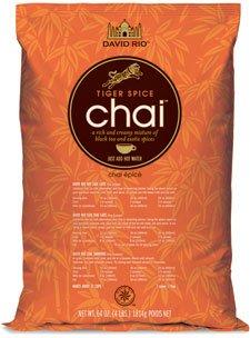 David Rio Tiger Spice Chai, Two 4 Lb. Bags