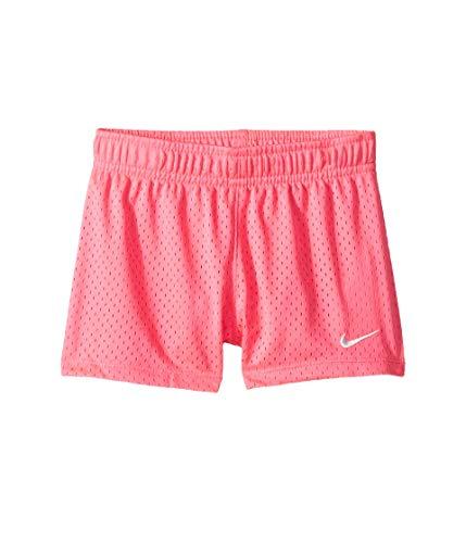 Nike Kids Baby Girl's Classic Mesh Shorts (Toddler) Hyper Pink 4T -