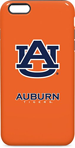 Skinit Auburn Tigers Orange iPhone 6/6s Plus Pro Case - Officially Licensed College Phone Case Pro, Scratch Resistant iPhone 6/6s Plus Cover