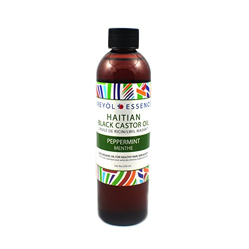 Peppermint Haitian Black Castor Oil