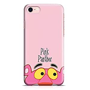 Loud Universe Pink Panther iPhone 8 Case Face Pink Panther Eyes iPhone 8 Cover with 3d Wrap around Edges