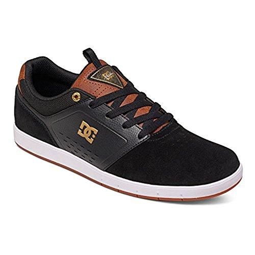 Dc Mænds Cole Pro Skate Sko Sort / Brun / Hvid 9PylcM1L