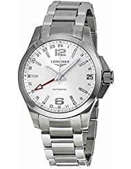 Longines Conquest Automatic Stainless Steel Mens Watch L3.687.4.76.6