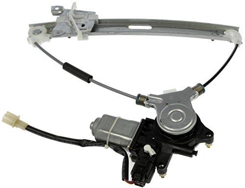 Dorman 748-712 Mazda Tribute Rear Driver Side Power Window Regulator with (Rear Window Crank)