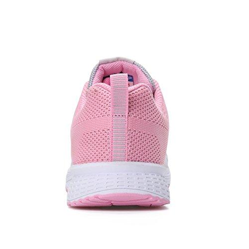 Ginnastica Fitness Grigio Sneakers amp;BOY Shoes Running Scarpe rosa da Donna Sportive ALI Gym pABqwZIA