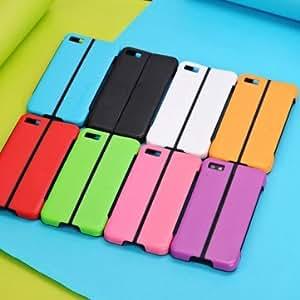 Folding Bracket Protection Shell TPU Hard Case For BlackBerry Z10 --- Color:Red