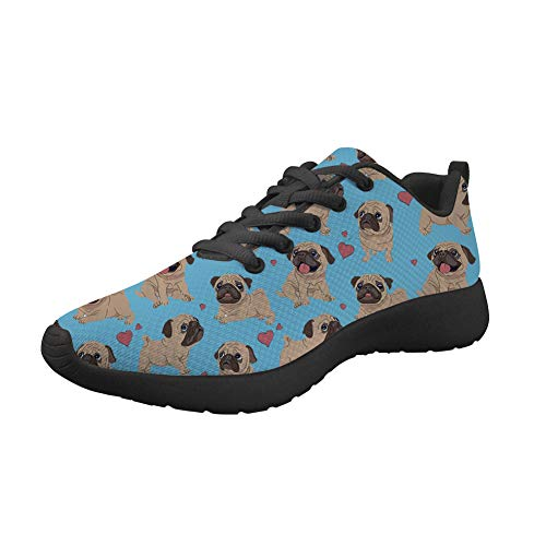 Showudesigns Running Sport Shoes for Women Lightweight Go Easy Walking Outdoor Sneaker Anti-Skid