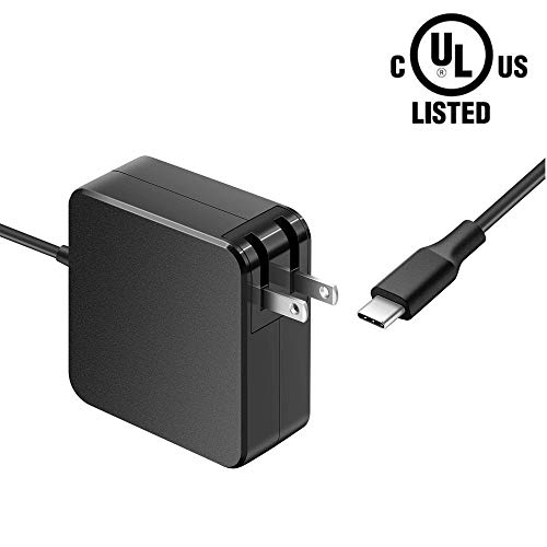 - 65W 45W 7.5Ft USB-C AC Charger Fit for Lenovo ThinkPad X380 X390 T490 T490s T590 Yoga USB-C 20LH 20LJ 20Q1 20Q0 20N2 20N3 20NX 20NY 20N4 20N5 Laptop USB Type C Charging Cable Power Supply Adapter Cord