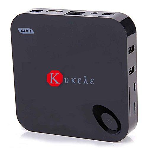 Kukele Unlocked 2GB/16GB Quad Core 64bits Android 5.1 Lollipop IPTV TV Box 4K Internet Streaming Media Player Wireless Keyboard with Media Center Player by KUKELE (Image #4)
