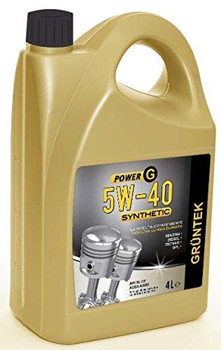 Olio Gruntek Power G 5w40 Synthetic 4l 8871