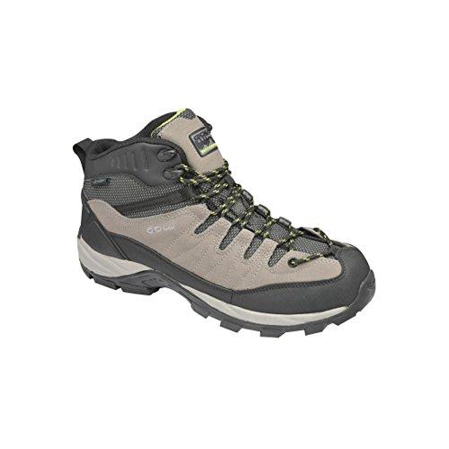 Gola - Zapatillas de senderismo de Material Sintético para hombre gris/negro/verde Gris - gris/negro/verde