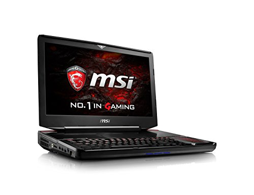 "MSI VR Ready GT83VR Titan SLI-024 18.4"" Extreme Gaming Laptop GTX 1080 Dual SLI i7-6920HQ 64GB 1TB SSD + 1TB Windows 10"