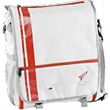 Rocket Science Messenger Tri Bag White by Rocket Science Sports