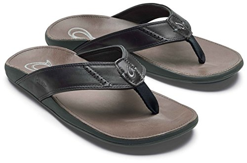 Dark OLUKAI Slipper Charcoal 13 Men's Nui Shadow rwfgtrq