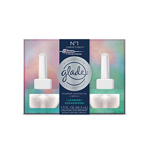 Price comparison product image Glade Atmosphere Collection PlugIns Scented Oil Air Freshener Refill, No 1 Enraptured, 2 refills, 1.5 fl oz