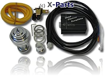 X-Parts - Válvula de descarga eléctrica para todo tipo de motores turbo diésel: Amazon.es: Coche y moto