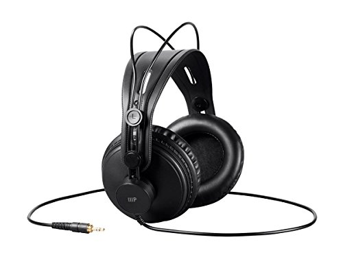 1. Monoprice Modern Retro Over Ear Headphones