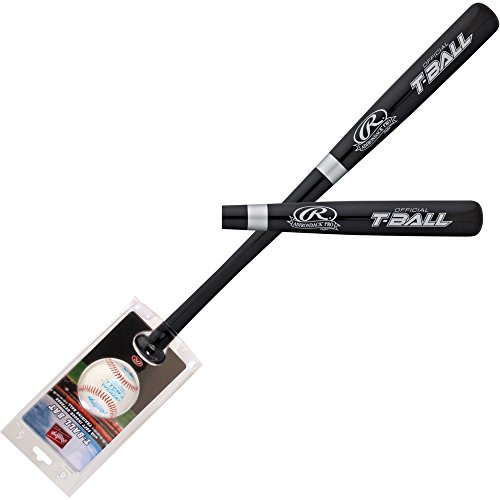 Rawlings Youth WBTBC T-Ball Wood bat/ball Combo 25