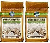 Authentic Foods Superfine Brown Rice Flour - 3lb (2-(Pack))