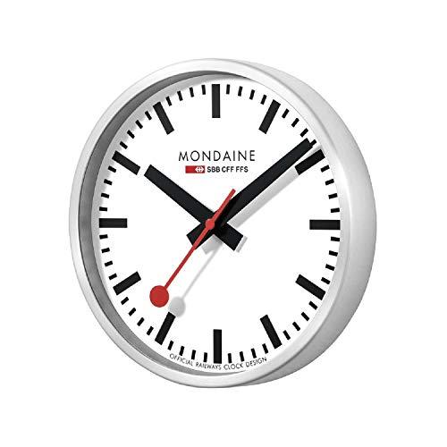 - Mondaine A990.CLOCK.16SBB Wall Clock White Dial