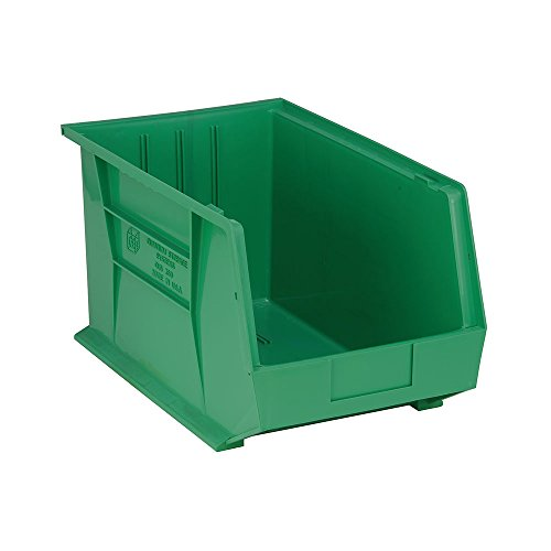 Quantum QUS260GN Green Ultra Stack and Hang Bin, 18