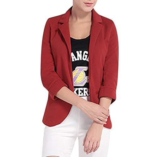 ZEFOTIM Women Candy-Color Three Quarter Sleeve Suit for sale  Delivered anywhere in USA