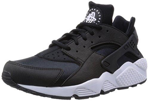 NIKE 006 Donna Black Scarpe da Wmns White Huarache Black Nero Run Air Ginnastica 0n01qr7H