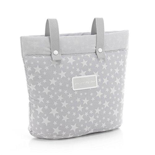 Amazon.com : Cambrass Star Stroller Diaper Bag, Grey : Baby