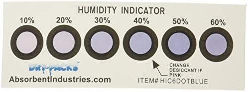 [해외]Dry-Packs Silica Gel50 Three Gram Packets and 10 Free 6 Dot Humidity Indicator Cards / Dry-Packs Silica Gel50 Three Gram Packets and 10 Free 6 Dot Humidity Indicator Cards