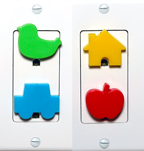 Meille's Baby Safety Secure Outlet Plug Cover - 12 counts