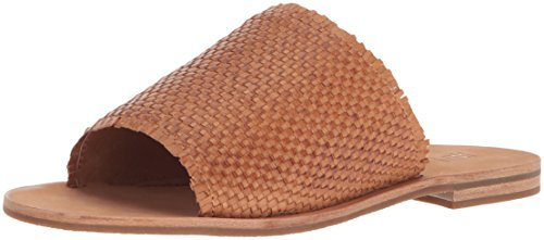FRYE Women Riley Woven Slide Sneaker Tan