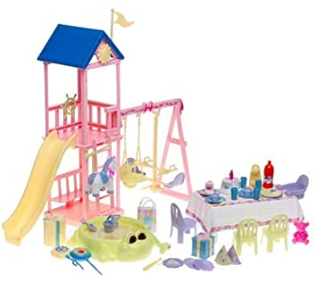 Amazon.es: Barbie B6292 - Happy Family bebé 1.Geburtstag Set ...
