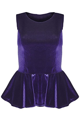 Women Sleeveless Flared Party Ladies Plus Size Skater TOP Dress - 7