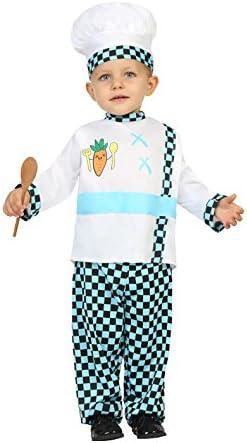 Atosa-25255 Disfraz Cocinero a Cuadros, 6 a 12 meses (25255 ...