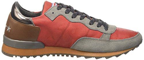 invicta Collo Unisex a 4461107 Rosso Tegola Basso Sneaker – Adulto HOnHPAfwq
