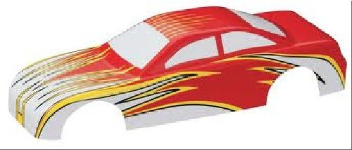Pine Wood Derby Car Accessories (Revell Pinewood Derby EZ Body Stock Car with Flame Detail A,)