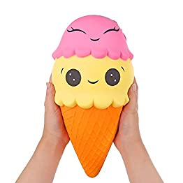 Ice Cream Cone | Slow Rising Jumbo Squishy 10