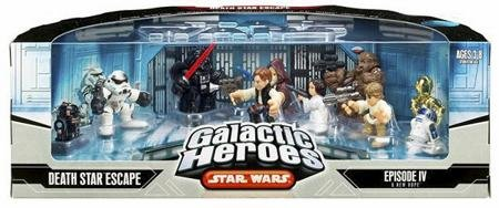 Star Wars Galactic Heroes Death Star Escape Episode IV :a New Hope Figures