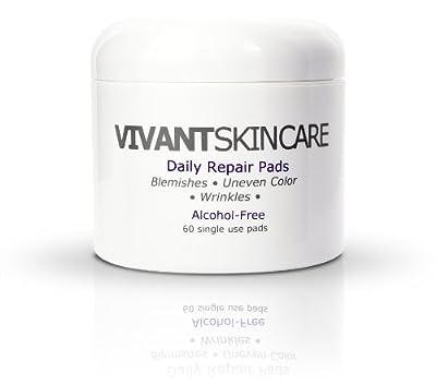 Vivant Skin Care Daily Repair Pads with 1% Mandelic Acid