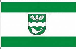 Vertical Bandera nedlitz (fläming)–150x 400cm–Bandera y