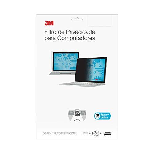 "Filtro de Privacidade 3M para Monitor, Tela Widescreen 18.5"", Preto, 3M, Filtros de privacidade e de tela para notebooks, Preto"