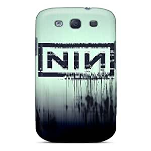 BYBUY Perfect Tpu Case For Galaxy S3/ Anti-scratch Protector Case (nine Inch Nails Band)