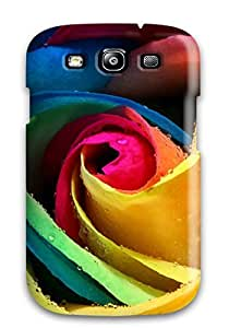Hot Shock-dirt Proof Colorful Rose Case Cover For Galaxy S3 5149160K80884969