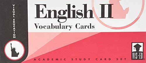 English Vocabulary Cards Set No. 2 (English Vocabulary Cards)