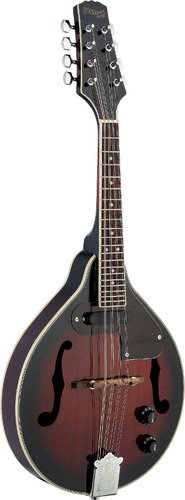 Stagg M50E Acoustic-Electric Bluegrass Mandolin with Nato Top - Redburst by Stagg