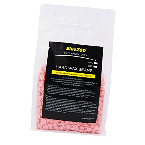Dovewill 500g Hot Wax Hard Beans Hair Removal Bikini Depilatory Pellets Pink Rose Flavor