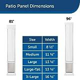 PetSafe Freedom Aluminum Patio Panel Sliding