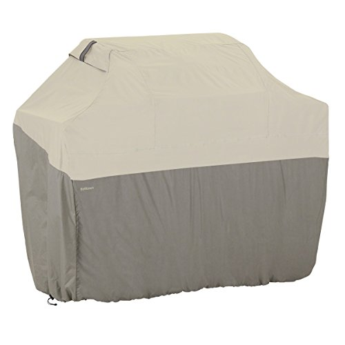 (Classic Accessories 55-259-051001-00 Belltown Outdoor Grill Cover, Grey, X-Large)