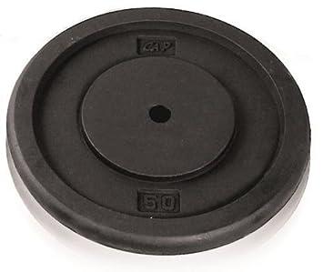CAP Barbell Standard Free Weight Plate 1-Inch 25 -Pound Black  sc 1 st  Amazon.com & Amazon.com : CAP Barbell Standard Free Weight Plate 1-Inch -Pound ...